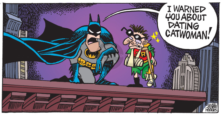 Comic Strip Mike Peters  Mother Goose and Grimm 2017-11-26 superhero