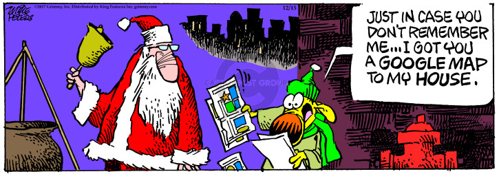 Comic Strip Mike Peters  Mother Goose and Grimm 2017-12-15 remember me