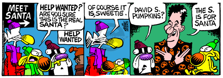 Comic Strip Mike Peters  Mother Goose and Grimm 2017-12-16 meet