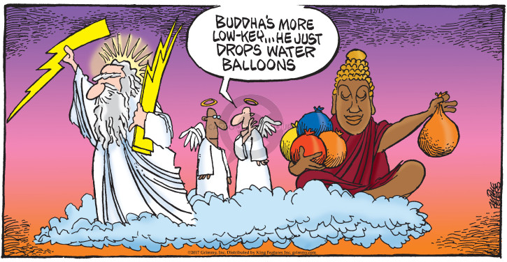 Comic Strip Mike Peters  Mother Goose and Grimm 2017-12-17 water