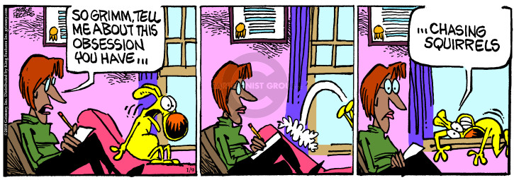 Comic Strip Mike Peters  Mother Goose and Grimm 2018-01-09 therapist