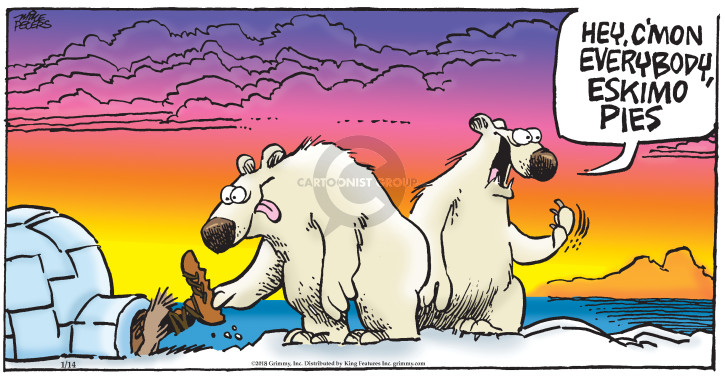 Comic Strip Mike Peters  Mother Goose and Grimm 2018-01-14 bear
