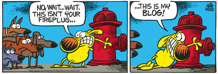 Cartoonist Mike Peters  Mother Goose and Grimm 2018-02-02 wait