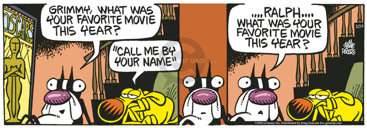 Comic Strip Mike Peters  Mother Goose and Grimm 2018-02-23 movie