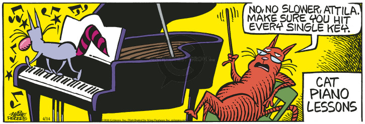 Comic Strip Mike Peters  Mother Goose and Grimm 2018-04-14 make