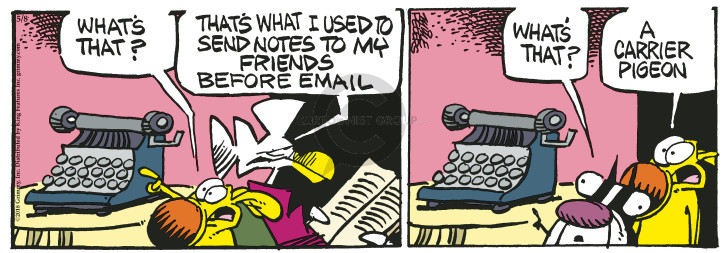 Comic Strip Mike Peters  Mother Goose and Grimm 2018-05-08 friend
