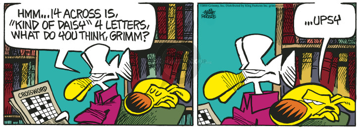 Cartoonist Mike Peters  Mother Goose and Grimm 2018-05-30 flower