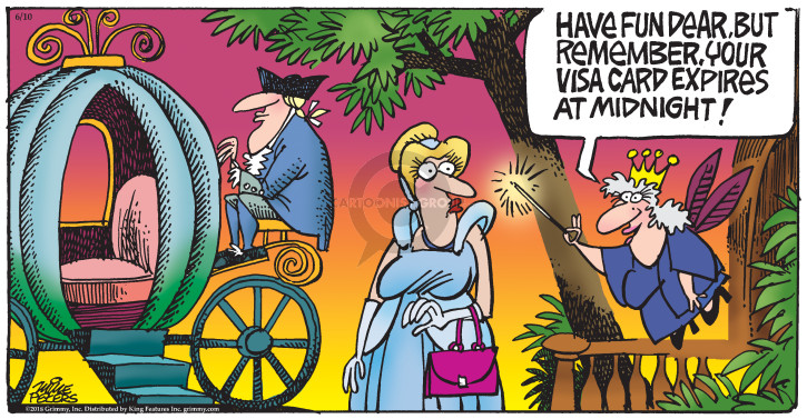 Comic Strip Mike Peters  Mother Goose and Grimm 2018-06-10 date