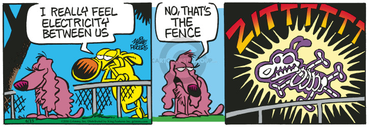 Comic Strip Mike Peters  Mother Goose and Grimm 2018-06-15 dog fence