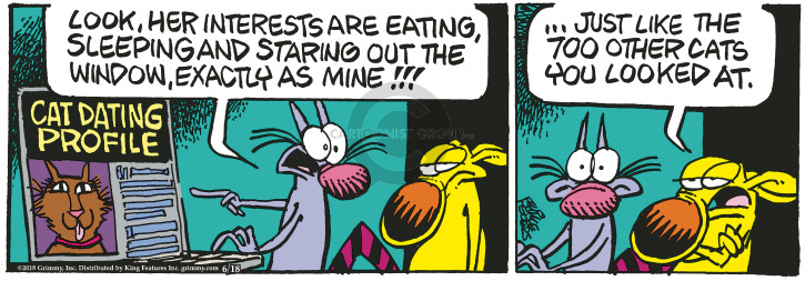 Comic Strip Mike Peters  Mother Goose and Grimm 2018-06-18 date