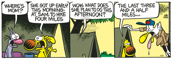 Comic Strip Mike Peters  Mother Goose and Grimm 2018-06-26 half