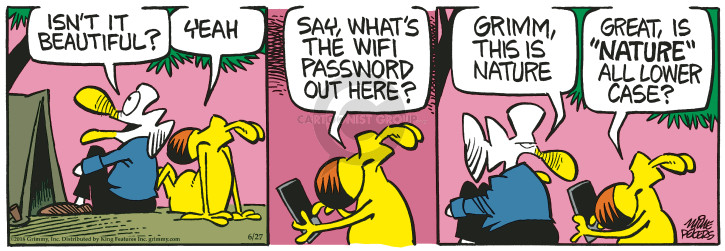 Comic Strip Mike Peters  Mother Goose and Grimm 2018-06-27 great