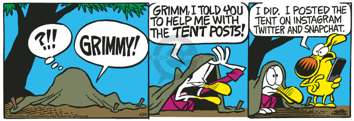 Comic Strip Mike Peters  Mother Goose and Grimm 2018-06-28 online
