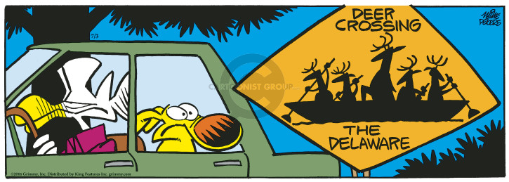 Comic Strip Mike Peters  Mother Goose and Grimm 2018-07-03 safety