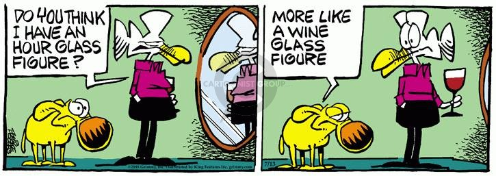 Comic Strip Mike Peters  Mother Goose and Grimm 2018-07-13 drink