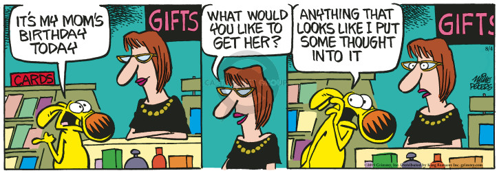 Cartoonist Mike Peters  Mother Goose and Grimm 2018-08-04 today