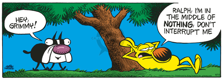 Comic Strip Mike Peters  Mother Goose and Grimm 2018-08-11 nothing