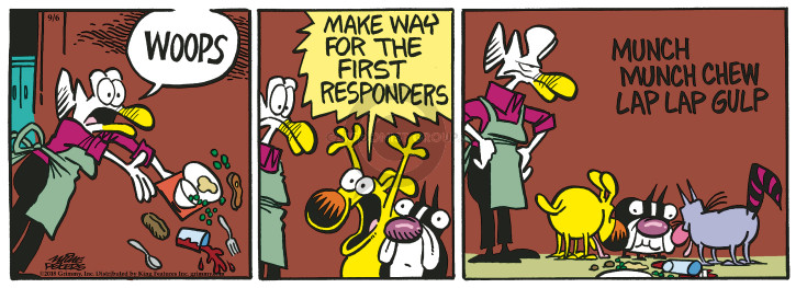 Comic Strip Mike Peters  Mother Goose and Grimm 2018-09-06 make