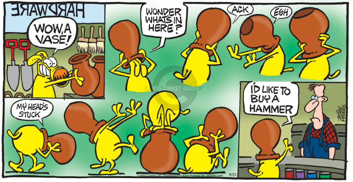 Comic Strip Mike Peters  Mother Goose and Grimm 2018-09-23 store
