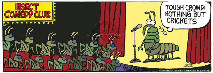 Comic Strip Mike Peters  Mother Goose and Grimm 2018-09-12 crowd