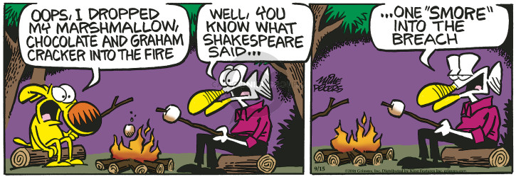 Comic Strip Mike Peters  Mother Goose and Grimm 2018-09-15 quote