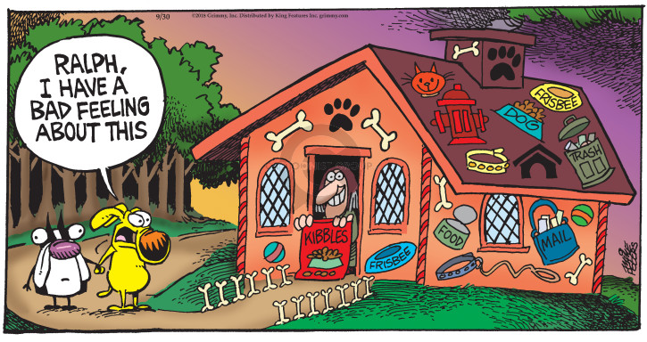 Comic Strip Mike Peters  Mother Goose and Grimm 2018-09-30 house