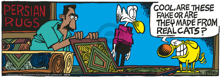 Comic Strip Mike Peters  Mother Goose and Grimm 2018-10-16 rug