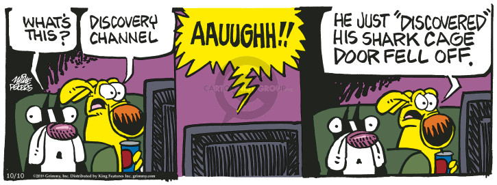 Comic Strip Mike Peters  Mother Goose and Grimm 2018-10-10 fall