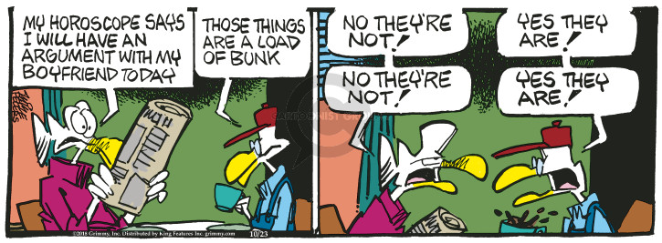 Cartoonist Mike Peters  Mother Goose and Grimm 2018-10-23 today