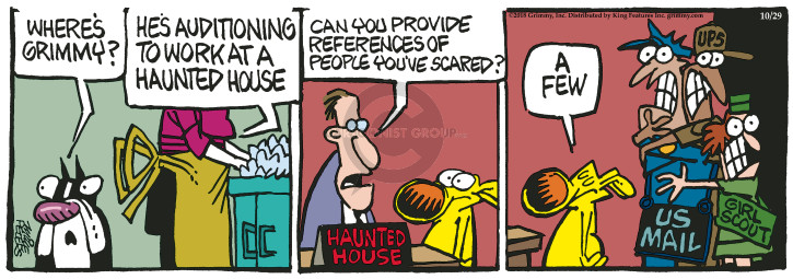 Comic Strip Mike Peters  Mother Goose and Grimm 2018-10-29 house