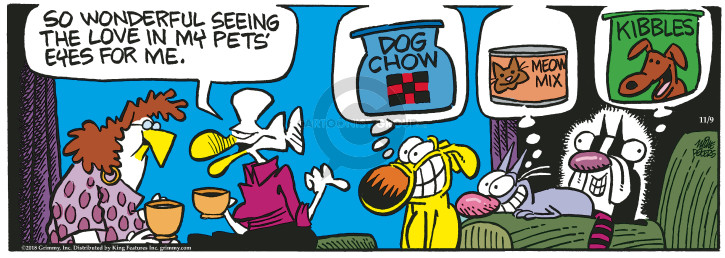 Comic Strip Mike Peters  Mother Goose and Grimm 2018-11-09 owner