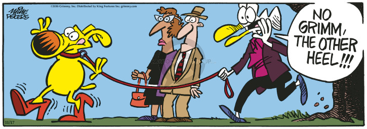 Cartoonist Mike Peters  Mother Goose and Grimm 2018-11-17 high