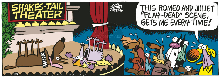 Cartoonist Mike Peters  Mother Goose and Grimm 2018-12-01 dead