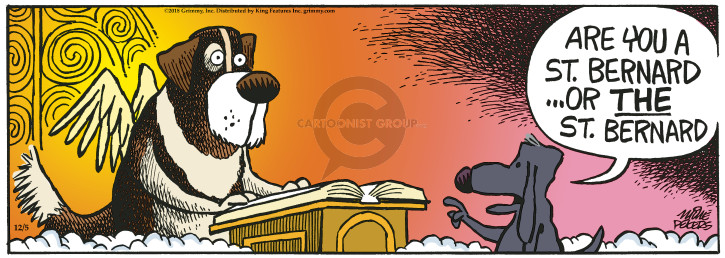 Comic Strip Mike Peters  Mother Goose and Grimm 2018-12-05 Bernard