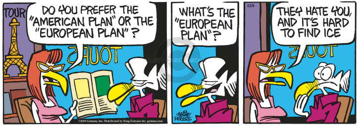 Comic Strip Mike Peters  Mother Goose and Grimm 2018-12-08 Europe