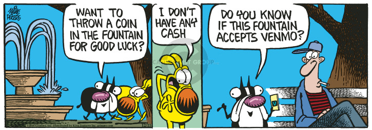 Comic Strip Mike Peters  Mother Goose and Grimm 2018-12-11 good