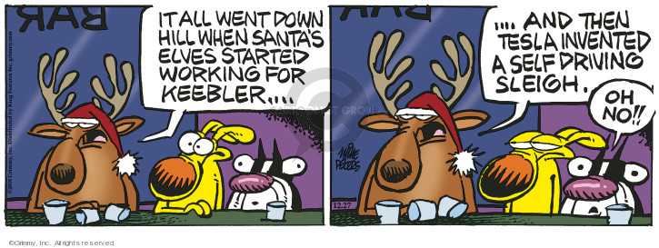 Comic Strip Mike Peters  Mother Goose and Grimm 2018-12-27 bar