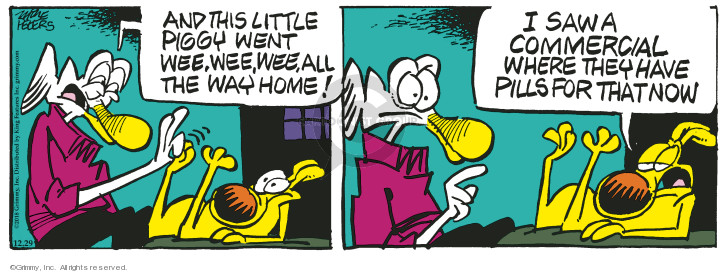 Comic Strip Mike Peters  Mother Goose and Grimm 2018-12-29 commercial