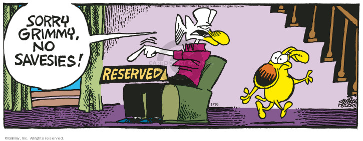 Comic Strip Mike Peters  Mother Goose and Grimm 2019-01-19 save