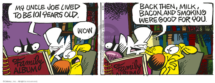 Comic Strip Mike Peters  Mother Goose and Grimm 2019-01-21 uncle