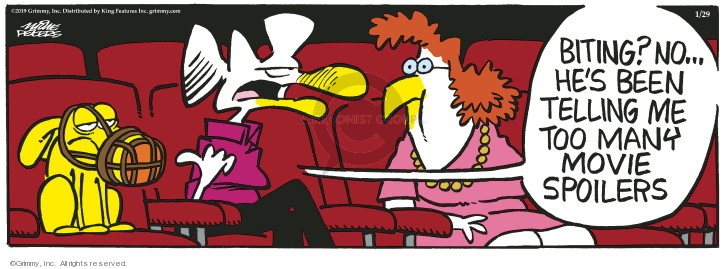 Comic Strip Mike Peters  Mother Goose and Grimm 2019-01-29 movie