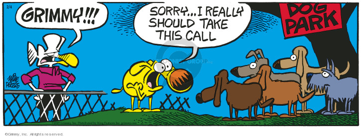 Comic Strip Mike Peters  Mother Goose and Grimm 2019-02-04 dog