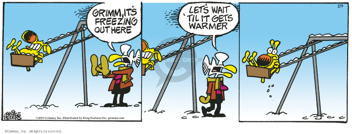 Comic Strip Mike Peters  Mother Goose and Grimm 2019-02-09 cold
