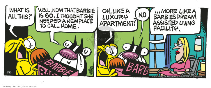 Comic Strip Mike Peters  Mother Goose and Grimm 2019-02-13 age