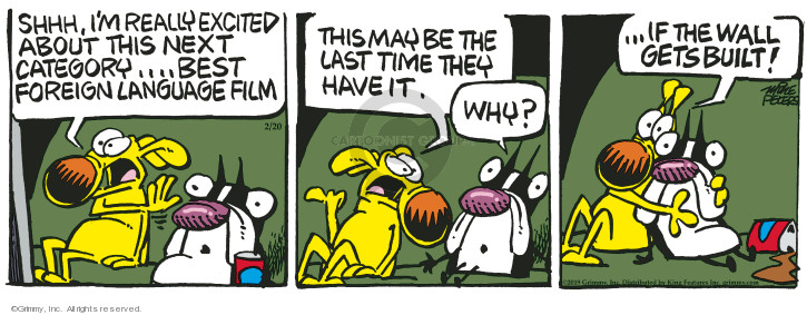 Comic Strip Mike Peters  Mother Goose and Grimm 2019-02-20 movie