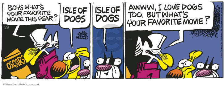 Comic Strip Mike Peters  Mother Goose and Grimm 2019-02-22 dog movie