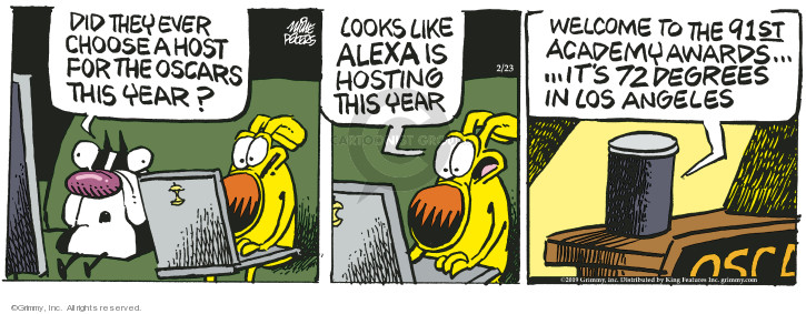 Cartoonist Mike Peters  Mother Goose and Grimm 2019-02-23 goose