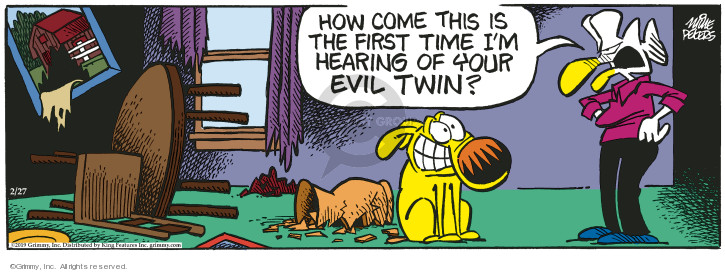 Comic Strip Mike Peters  Mother Goose and Grimm 2019-02-27 first time