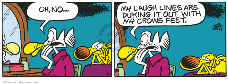 Comic Strip Mike Peters  Mother Goose and Grimm 2019-03-06 wrinkle