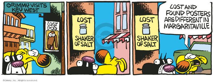 Comic Strip Mike Peters  Mother Goose and Grimm 2019-03-11 visit